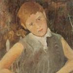 """Luigi Pirandello, """"Picci"""" (Ritratto del nipote Pierluigi), 1936"""